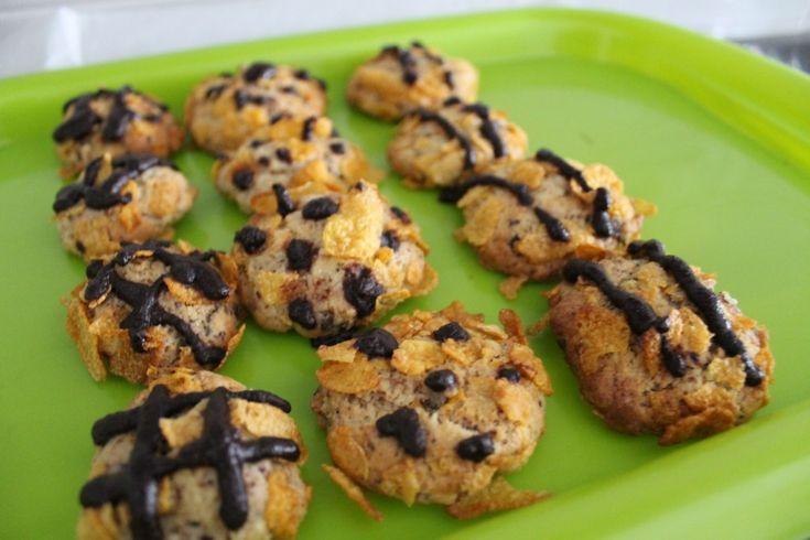 Biscotti al cioccolato e corn flakes - Powered by @ultimaterecipe