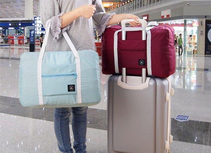 Travel Bag Hand Luggage Large Casual Clothes Storage Organizer Case Suitcase New #TravelBagChina #TravelBag