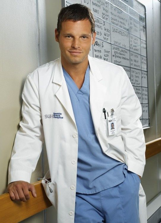 Dr. Alex Karev played by Justin Chambers