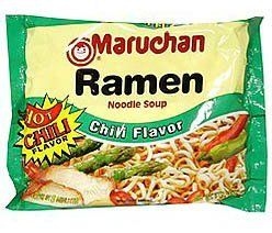 Maruchan Ramen Hot Chilli Flavor, 3 oz, 24 ct