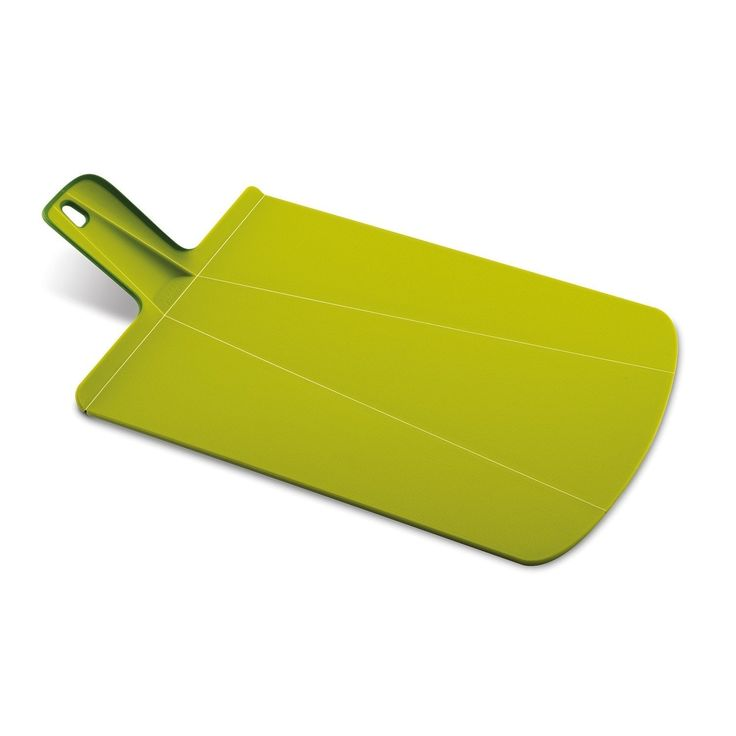 Joseph Joseph Chop2Pot Plus Foldable Plastic Cutting Board & Kitchen Prep Mat, Large, Green