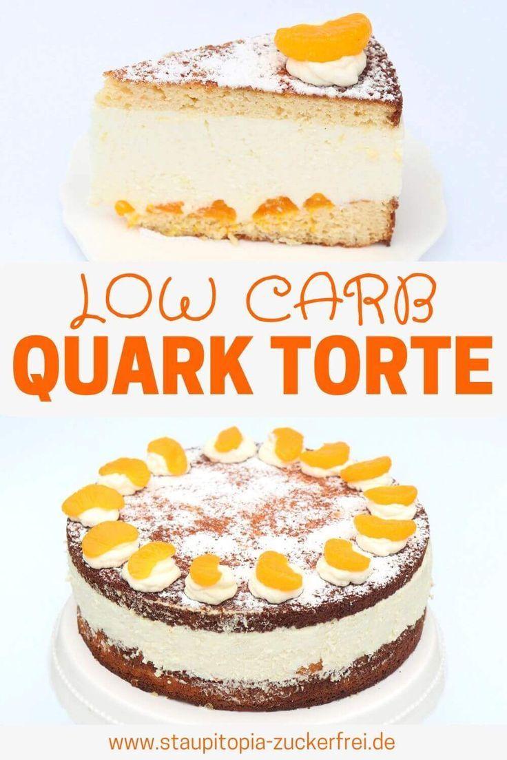 Low Carb Quark Torte Rezept Quarkkuchen Ohne Backen Rezepte Und Zuckerfreie Rezepte
