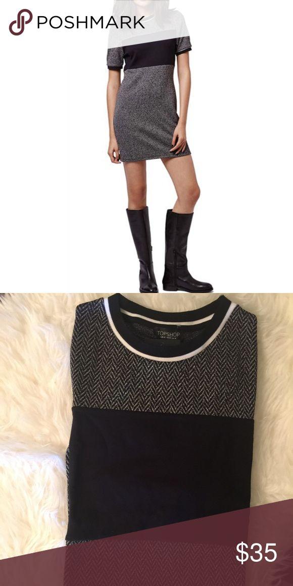 TOPSHOP SWEATER DRESS 🎉🎉ONE DAY SALE🎉🎉BRAND NEW WITH TAGS ❤️ TOPSHOP SWEATER DRESS.. PERFECT FOR THE FALL & WINTER WARDROBE.. ITS SO CUTE. Topshop Dresses Mini