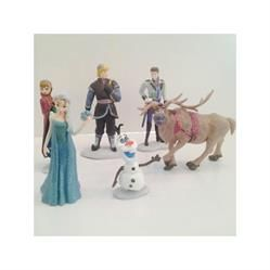 Disney Frozen Cake Topper Set of 6