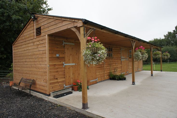 Stable Blocks – Royal Range – Stables & Hay Barn – Equestrian buildings – Horse Stables