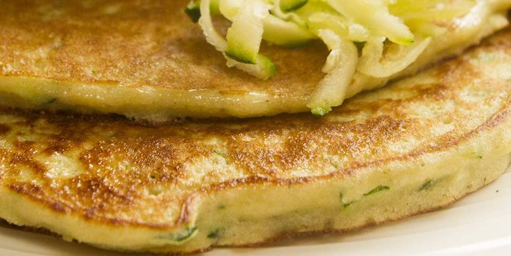 ZUCCHINI PANCAKES A healthier alternative to potato pancakes, love at first taste! So easy to make and super healthy and these will exceed your expectations when it comes to healthy food alternatives.  No dairy and no gluten.