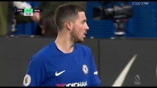 Eden Hazard vs Brighton (26/12/2017) Home