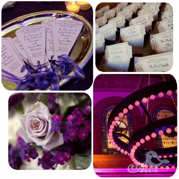 Aves Photography Old Hollywood Vintage Wedding Ideas - (movie ticket escort cards?)