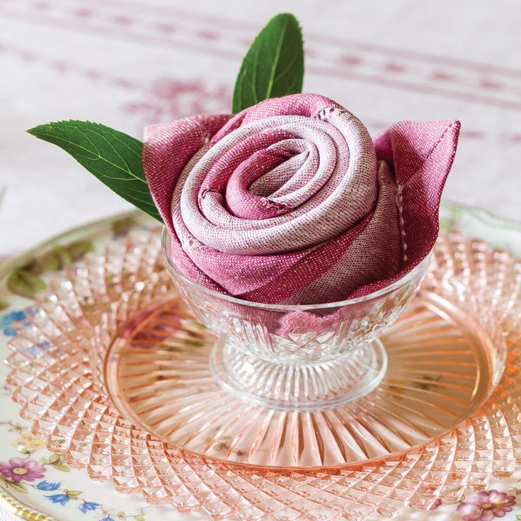 χαρτοπετσέτα ροζέτα