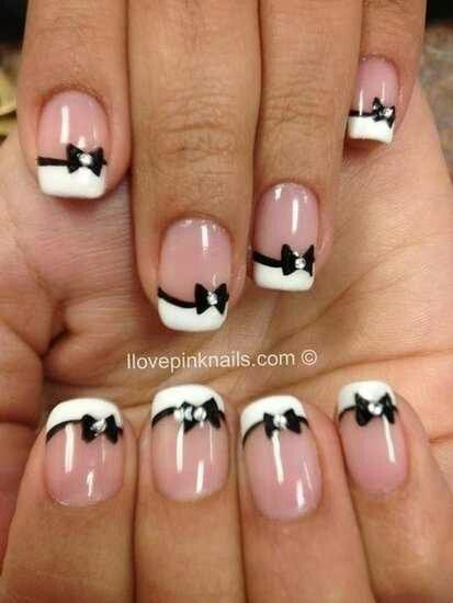 I like this but with the bow on my ring fingers only!