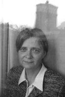 Fiction writer and literary scholar Daniela Hodrová was born in Prague on 5 July 1946. After graduating from secondary school, she worked briefly as an assistant director and script consultant at the Jiří Wolker Theatre, then read Russian and Czech at Prague