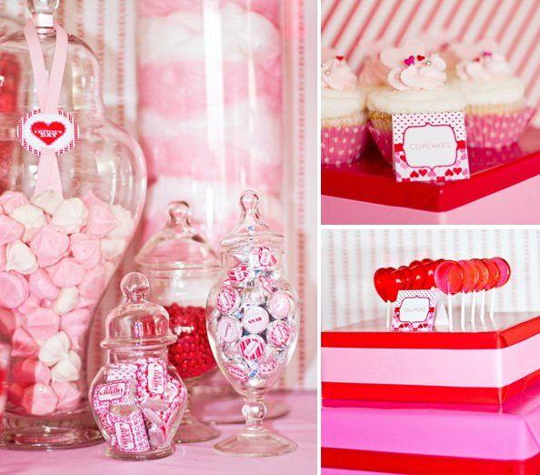 Mesas de dulces para una fiesta de cumpleaños, ideas que insipiran.