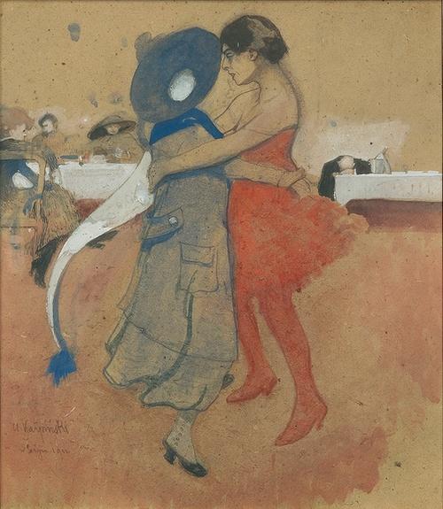Alfons Karpinski - Paris Cafe, 1911