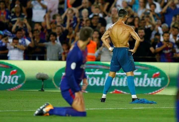 13.8.2017 Barca and Real Madrid