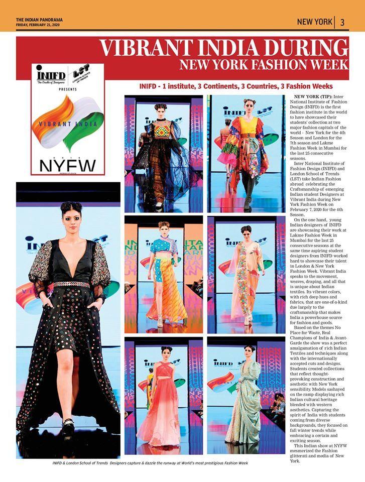 Fashion And Interior Design Institute In 2020 Fashion Design Fashion Institute New York Fashion Week