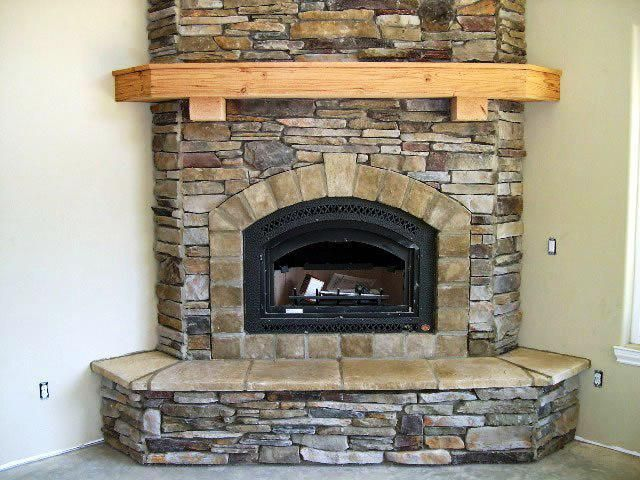 Fesselnd Antique Stone Fireplace Mantels And Surrounds U2014 Firepits .