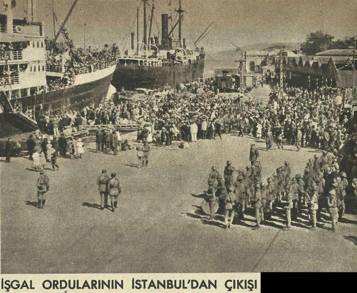 İşgal Ordularının İstanbul'dan Çıkışı