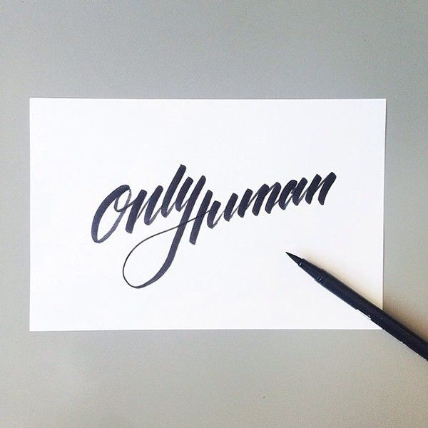 Lettering & Calligraphy collection on Typography Served