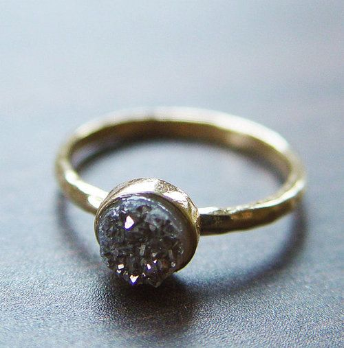 ring ring ring: Crystals, Wedding Ring, Druzy Ring, Crystal Ring, Rings, Jewelry, Accessories