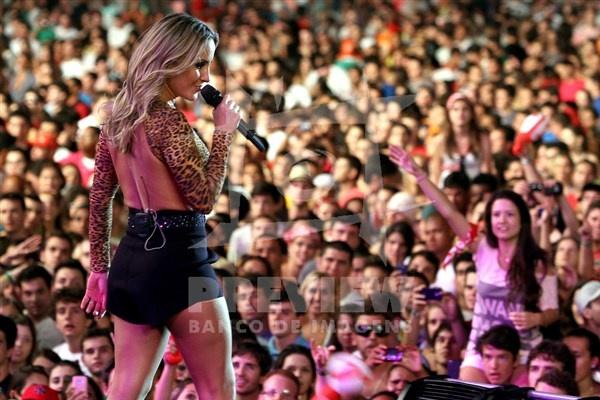 Show da Claudia Leitte no palco principal do Planeta Atlântida 2013/SC, que acontece nos dias 11 e 12 de janeiro no Sapiens Parque, em Florianópolis.