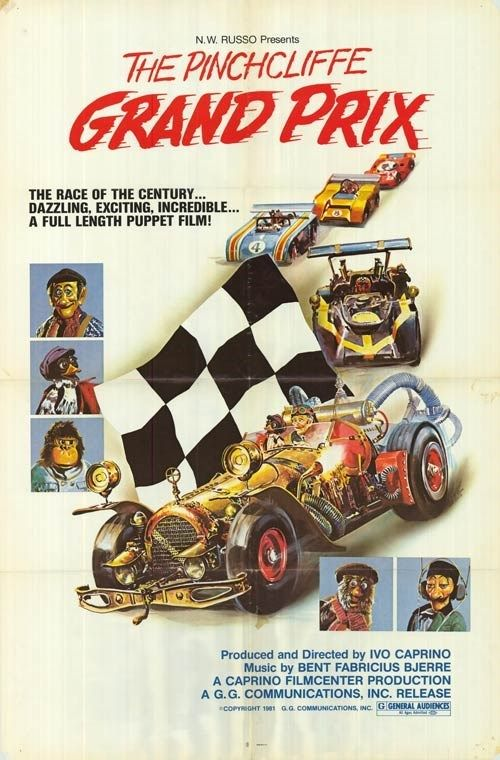 The Pinchcliffe Grand Prix (1975) Flåklypa Grand Prix (original title) Stars: Wenche Foss, Per Theodor Haugen, Harald Heide-Steen Jr. ~ Director: Ivo Caprino