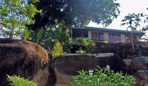 Singharaja Garden ECO-Lodge in Sri Lanka.