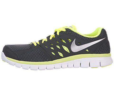http://www.undergroundsoundsky.com Nike Men's NIKE FLEX 2013 RN RUNNING SHOES 10 Men US (ANTHRCT/MTLLC SLVR/VLT/WHITE)