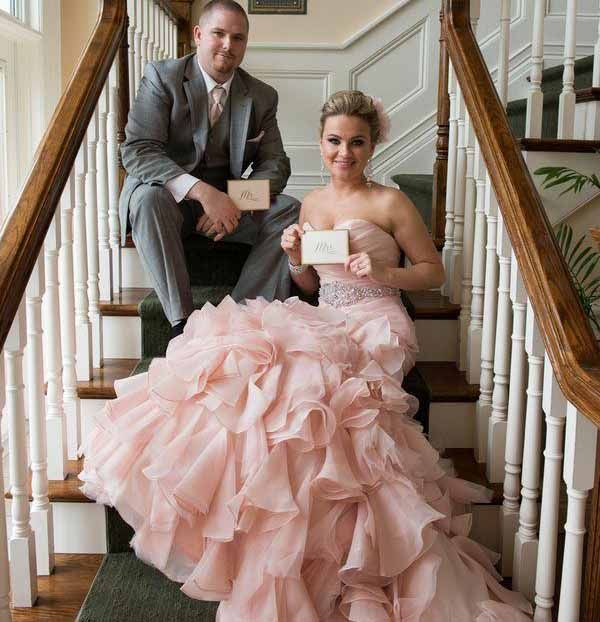 Organza Pink Blush Wedding Dress Sweetheart Pleated Mermaid Wedding Gowns With Tiered Skirt Colored Bridal Dresses Vestido De Noiva In 2021 Wedding Gowns Mermaid Pink Wedding Dresses Sweetheart Wedding Dress