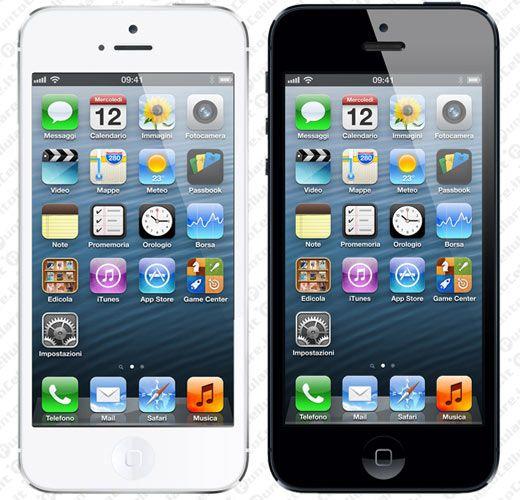 3 - il nuovo iPhone 5 dal 28 settembre nei negozi a partire da 0 euro