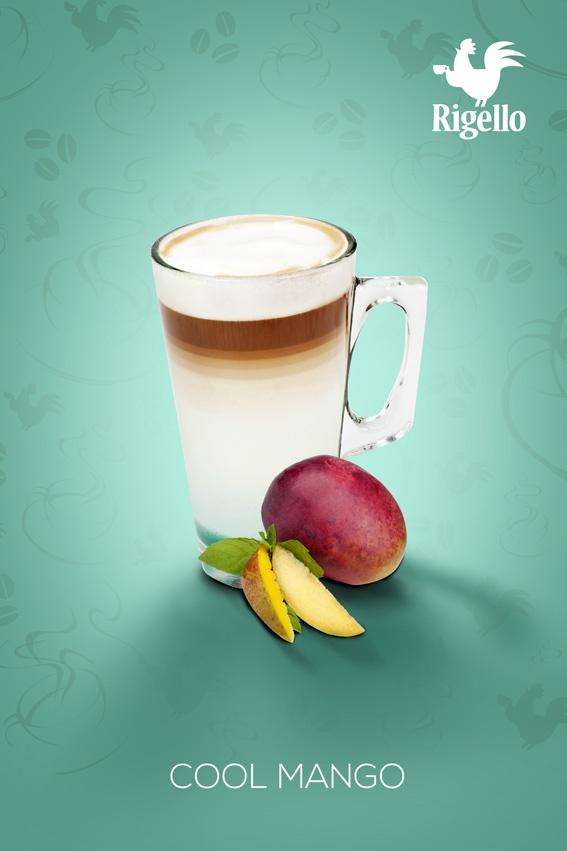 Fusion Line: Cool #Mango #Coffee by #Rigello
