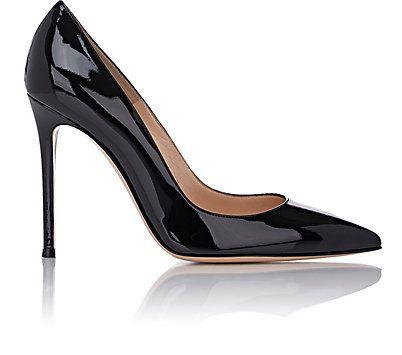 Gianvito Rossi Gianvito Pumps. Black Slip On ShoesBlack ...