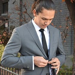 Gray Suit for the Groom | Affordable Custom Wedding Day Apparel for the Wedding Party | Salt Lake City | Utah Weddings | Tailor Cooperative - Men's Custom Suits & Dress Shirts that actually fit