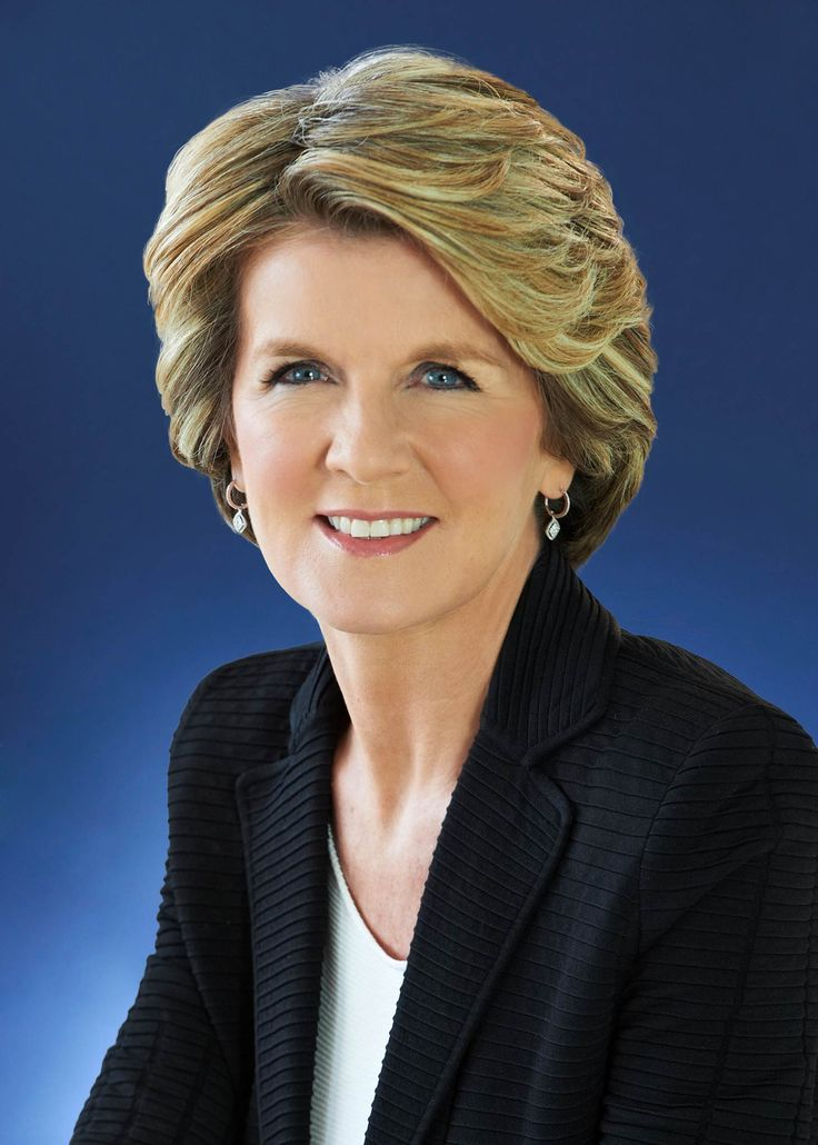 Julie Bishop, Australia's Minister for Foreign Affairs, professional & elegant