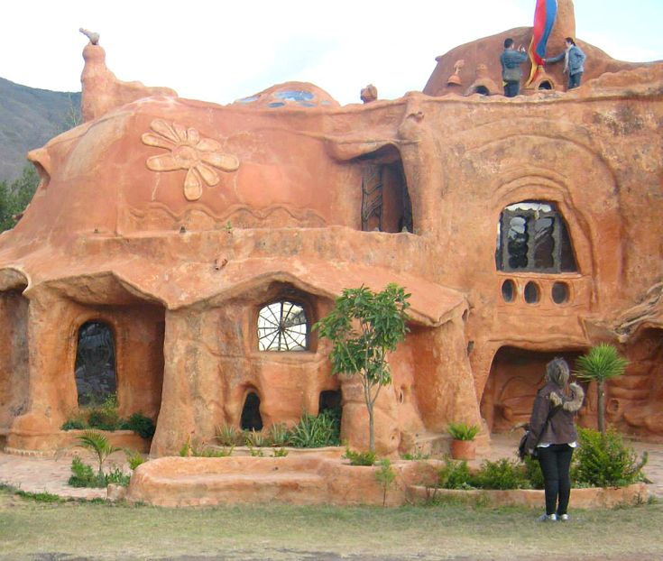 Villa de Leyva's Clay House