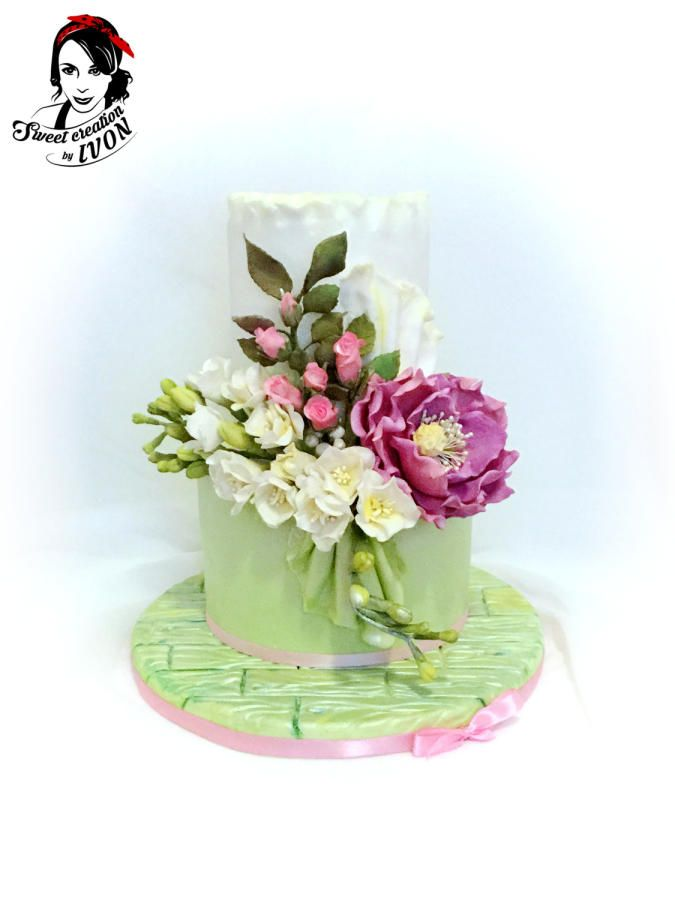 Romantic with Freesias by Ivon