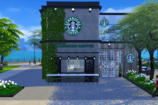 modern Starbucks