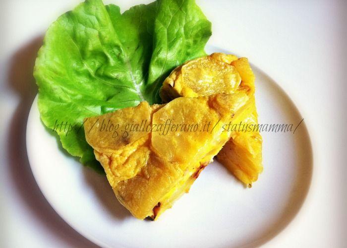 Torta+salata+di+patate+al+forno+microonde