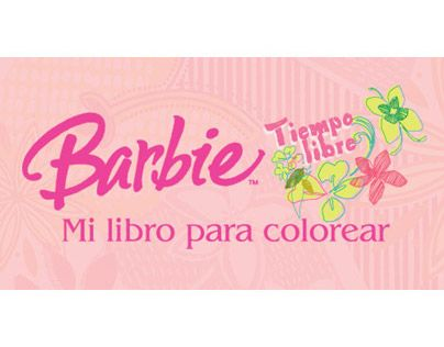 Barbie Mi Libro Para ColorearBook Cover Design Project For Editions LarousseMexico City