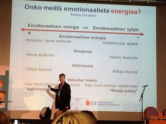 Emotionaalista energiaa