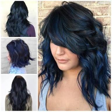 """Résultat de recherche d'images pour """"cheveux noir reflet"""
