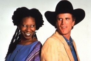 ted danson & whoopi goldberg from  made in america