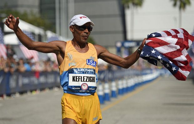 Olympian Meb Keflezighi to be honored at Akron Marathon