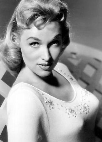 "Karen Steele (March 20, 1931 – March 12, 1988) was an American actress and model with more than sixty roles in film and television. Her most famous roles include starring as Virginia in Marty, as Mrs Lane in Ride Lonesome, and as Eve McHuron in the Star Trek episode ""Mudd's Women""."