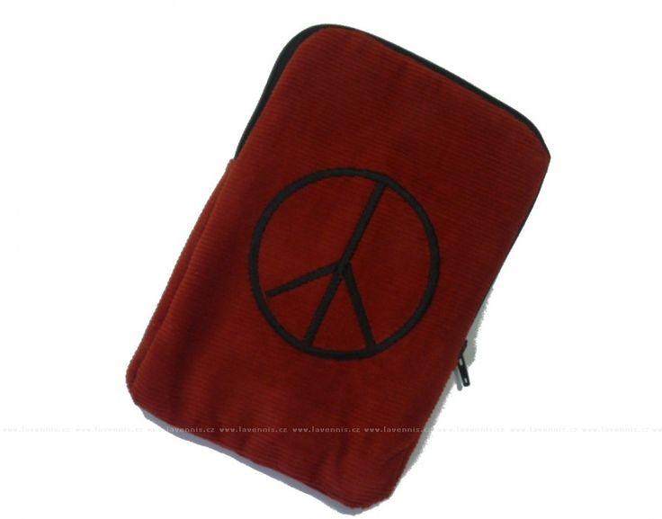 Pouzdro na pásek - Peace. Praktické pouzdro na pásek, do kterého uložíte doklady, telefon, peníze i zápisník s tužkou. Kabelku či batůžek můžete nechat doma. A máte volné ruce.