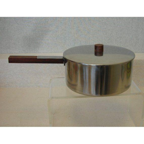 vintage Danish Modern sauce pot