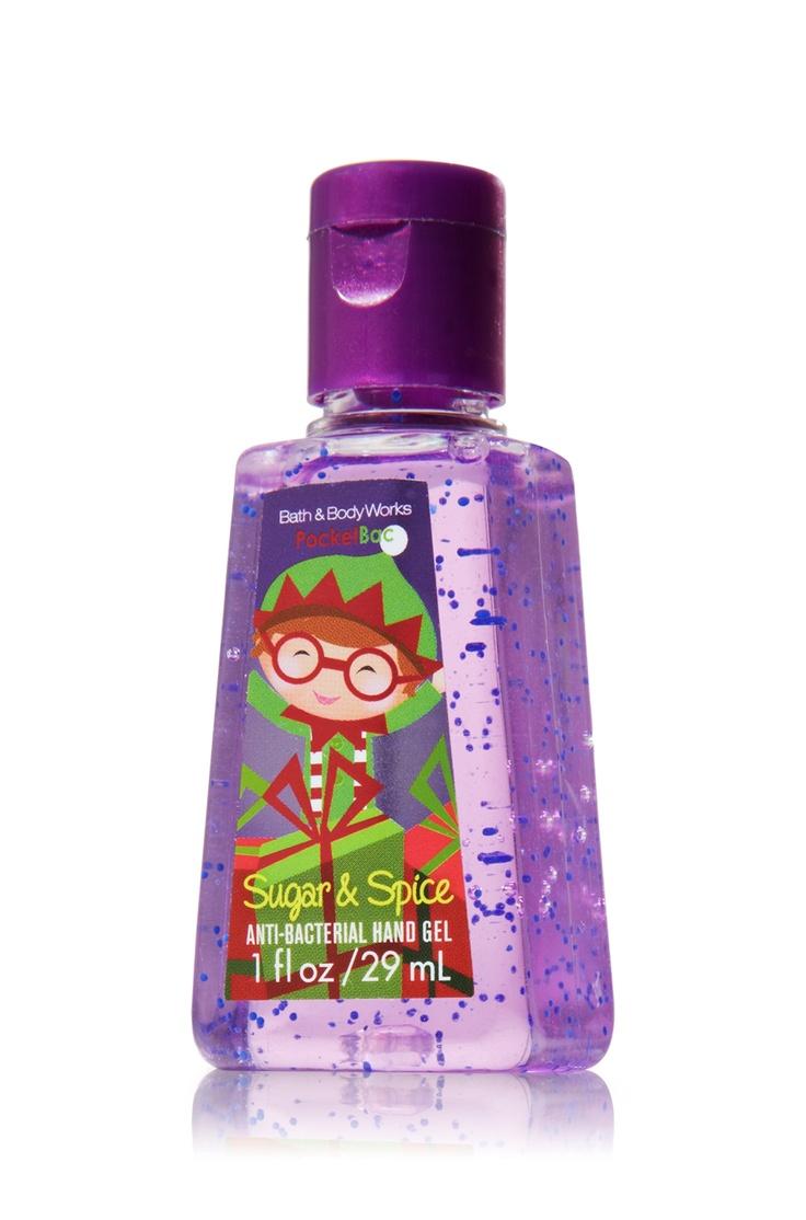 Sugar & Spice PocketBac Sanitizing Hand Gel - Anti-Bacterial - Bath & Body Works