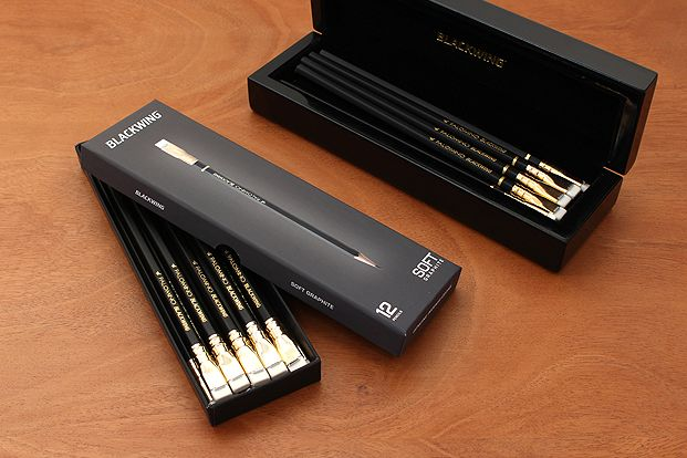 Palomino Blackwing packaging.
