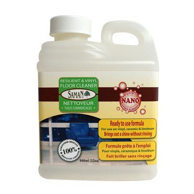 Saman UFC 946 Resilient And Vinyl Floor Cleaner 946mL