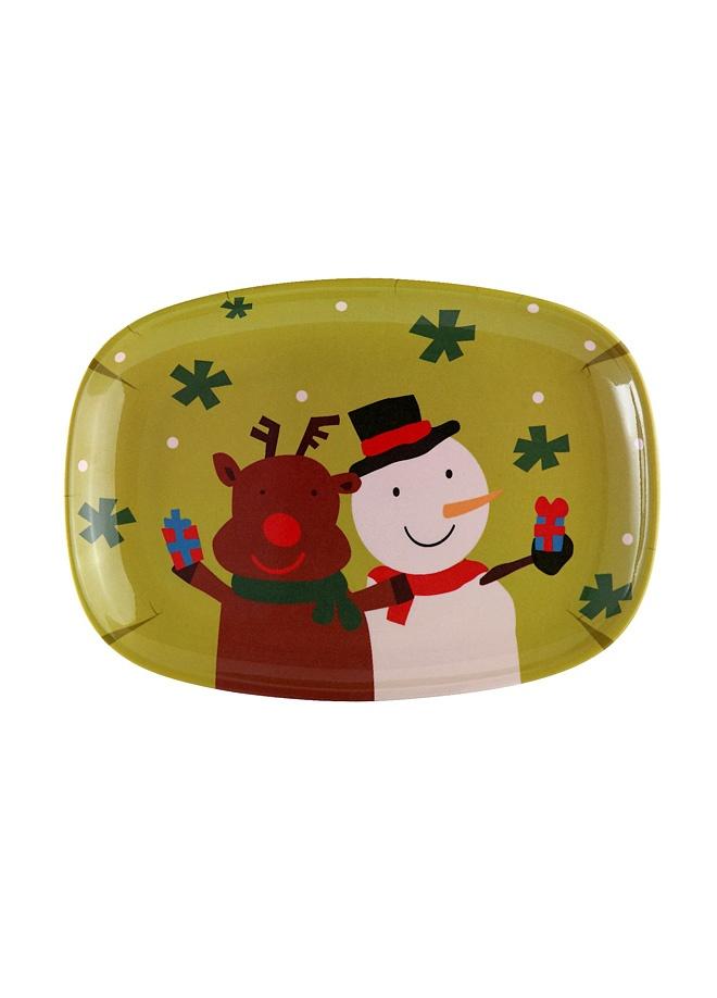 Tantitoni Geyik desenli dikdörtgen servis tabağı - 34.8 x 25 cm. Markafoni'de 13,00 TL yerine 9,99 TL! Satın almak için: http://www.markafoni.com/product/3173560/