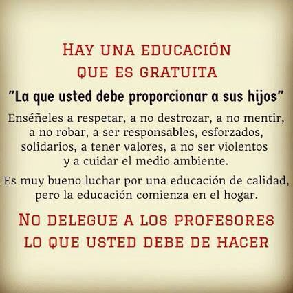 Aprendamos a educar